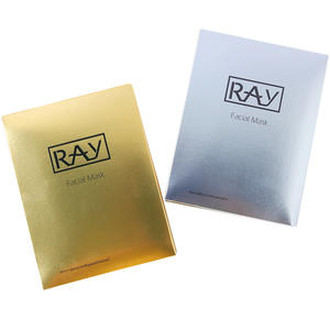 泰国正品 RAY蚕丝面膜贴 金色银色佐木版