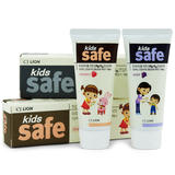 韩国狮王有机防蛀可吞咽小孩儿童牙膏90g
