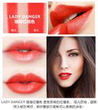 MAC魅可唇膏口红lady danger珊瑚红橘色