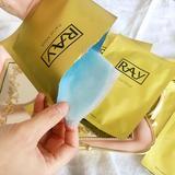 泰国正品 RAY蚕丝面膜贴 金色银色妆蕾版