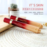 its skin伊思 红参蜗牛眼霜精华红参滚珠眼霜15ml*2只装