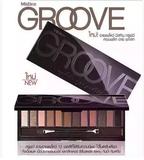 Mistine Groove12色眼影盘