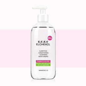 ECEC温和卸妆洁肤液500ml+赠卸妆棉40片