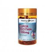 澳洲Healthy Care hc大豆卵磷脂保护肝脏血管1200mg 100粒