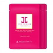 JAYJUN韩国新款rose mask水光红玫瑰面膜补水美白保湿淡斑精华10片/1盒