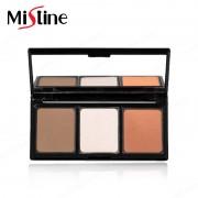 泰国彩妆Mistine美氏婷 三色修容粉盒 3色眉粉